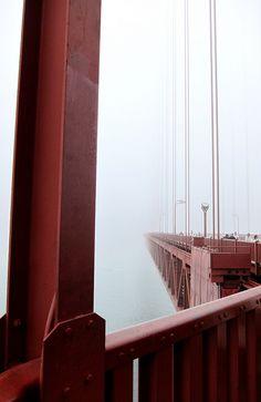 Golden Gate Bridge - one of the most internationally recognized symbols of San Francisco, California.  An engineering wonder of the modern world.