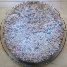 Apple and Blueberry Cake with Cinnamon Crumble Cinnamon Crumble, Blueberry Crumble, Blueberry Cake, Spelt Flour, Vanilla Sugar, 2 Eggs, Blueberries, Yummy Cakes, Apples