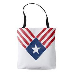 #stripes - #American Flag Star and Stripes Patriotic Tote Bag