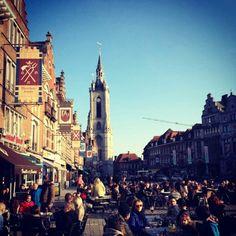Tournai, Belgium :) #sunny #goodmorning #belgium #travel   Tournai, Bélgica :) #soleado #buenosdias #belgica #viajes   Thanks for the picture to / Gracias por la fotografía a: Audric :)