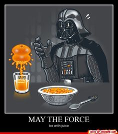 May the Force...