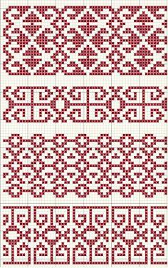 seba blackwork designs: Konya Kilim Monochrome