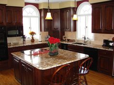Kitchen Cabinets Stain Colors kitchen cabinet wood choices | dark wood cabinets, dark wood and