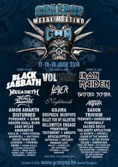 LIVE REPORT: Iron Maiden (( Live at Graspop Metal Meeting)) Un altro report della Vergine di Ferro, ma stavolta in Belgio, sul prestigioso palco dello storico Graspop. I Maiden hanno suonato nella giornata del 19 Giugno, accompagnati da formazioni di spicco come Twisted Sister, Saxon, Anthrax, Trivium e molti altri. Cliccando sulla foto o sul titolo si aprirà la recensione...Buona Lettura! (Diego Piazza)