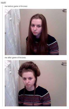 "GoT #hairproblems.   33 Jokes Only ""Game Of Thrones"" Fans Will Understand"
