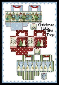 Seneca Pond Crafts Christmas totes