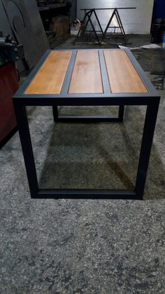 Welding Table – Should You Build One Or Buy One? Welded Furniture, Industrial Design Furniture, Iron Furniture, Industrial Table, Steel Furniture, Custom Furniture, Furniture Design, House Furniture, Furniture Outlet