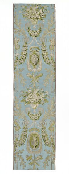 Furnishing fabric | Dugourc, Jean-Démosthène | V&A Search the Collections, silk, France, 1797-1798