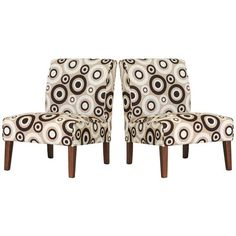 Bring stylish sophistication to your favorite seating group with this handsome design.Product: Set of 2 accent chairs   Co...
