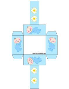 printable baby box