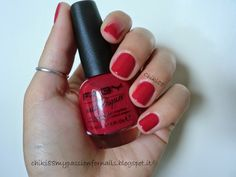 CHIKI88...  my passion for nails!: The nails of the week: 50 sfumature di rosso!