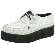 Gold Studded Creepers