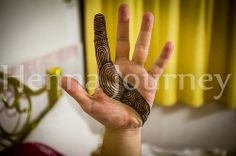 Henna tattoo, simple lines Hand henna for men