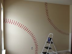 This DIY House: Inspiration for Vintage Baseball a - This DIY House: Inspiration for Vintage Baseball and Football Boys Room!  Repinly Kids Popular Pins