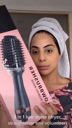 Blow Hair, Dry Hair, Thick Coarse Hair, Hair Diffuser, Hair Dryer Brush, Heatless Hairstyles, Front Hair Styles, Keratin Hair, Hair Styler