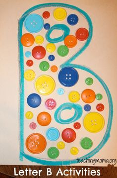 Find hands-on activities for your preschooler to learn about the Letter B.