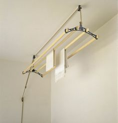 A Lovely Traditional Ceiling Mounted Clothes Airer Known As Sheila Maid Perfect For Laundry Room The Is On Pulley System