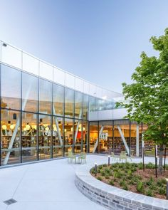 ZAS creates Toronto library with curved walls and slanted windows