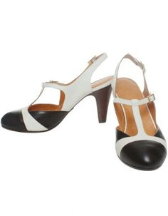 Chie Mahara Contrast Nadal T-Bar shoes