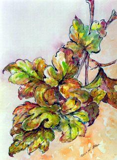 Watercolor by Beáta Hargitai