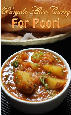 Punjabi Aloo Curry Recipe / Aloo Curry for Poori