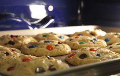 Curlytop M&M Cookies