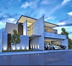 gerlsbady - 0 results for architecture Villa Design, Facade Design, Exterior Design, House Front Design, Modern House Design, Conception Villa, Architecture Résidentielle, Modern Mansion, Facade House