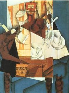 Juan gris - collage of other art  sketches etc - cool. maybe section cut