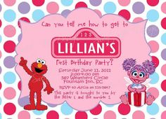 Abby Cadabby Birthday Invitation Custom by SweetBeeDesignShoppe, $12.00