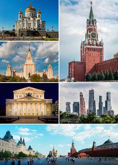 Moskva - Wikipedija, prosta enciklopedija