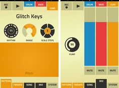 great little music-making app with synths and drums from Reason, lovely vintage UI too!