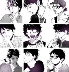 Hirunaka no Ryuusei - different faces of Lovely Sensei ♡♥ I really like the art work in this manga