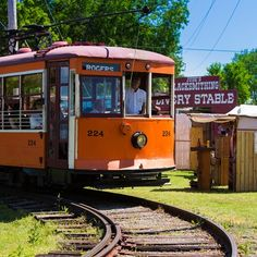 Experience Fort Smith, Arkansas with a ride through historic downtown inside of a restored 1926 electric Birney Streetcar!