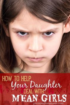 Mean girls are everywhere. Here are some true to life tips to help your daughter deal with them --- the right way! @alicanwrite