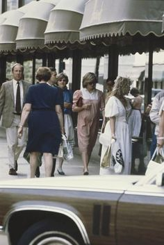 Diana au Shopping , le 10 Juin 1982