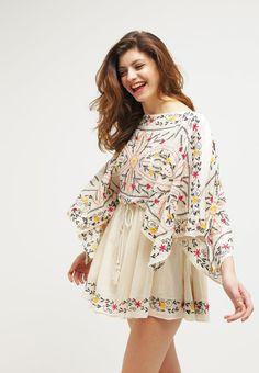 Mit diesem süßen Kleid bringst du Freude in deinen Alltag. Free People FRIDA - Freizeitkleid - ivory combo für 118,95 € (27.09.16) versandkostenfrei bei Zalando bestellen.
