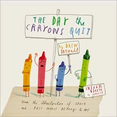 "Storytime idea: Emotions & Feelings using ""The Day the Crayons Quit"""