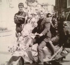 Mods Mod Scooter, Scooter Girl, Youth Subcultures, Mod Girl, Old Motorcycles, Vespa Lambretta, 60s Style, 60s Mod, A Way Of Life