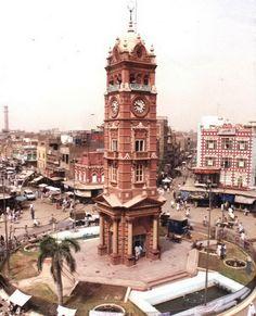 Torre del Reloj de Faisalabad, Pakistán