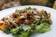 Mango Chicken Salad with Chipotle Mayo #paleo