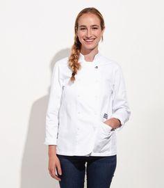 Women's Chef Coat - Long Sleeved