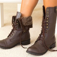 Omg I have these too but in black. I think I need a brown pair now