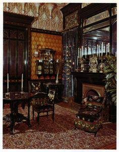 Worsham-Rockefeller Room Medium: Moorish smoking room from the John D. Rockefeller House Dates: built ca. 1864-1865; remodeled ca. 1881