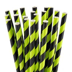 If you are having a party, you will need Halloween themed tableware. These black and green stripey straws will add a zombie-esque feel to all your guest's beverages ! Halloween Goodies, Halloween Items, Halloween 2014, Halloween Party Decor, Witches Brew, Halloween Accessories, Party Tableware, Straws, Harry Potter