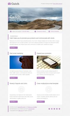 Catch Email Template