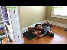 ▶ Yoga for Lower Back Pain, Hip and Thigh Flexibility - YouTube