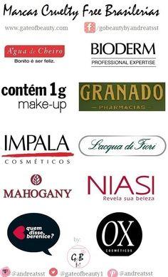 makeup cruelty free | *Blog de Beleza Cruelty Free*