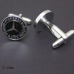 Men Cufflinks- Copper Fashion Cufflinks, Benz Logo Design