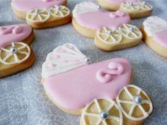 Estrade's cakes: cariitos rosas para bautizo