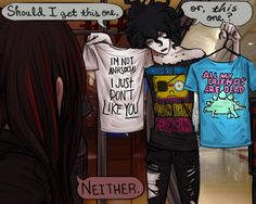Picking A Shirt Sol-Lux